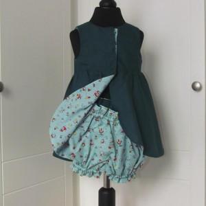 Tulip Dress  with matching panties