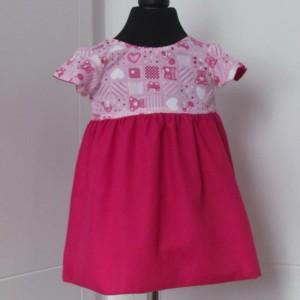Maisie cap sleeved dress